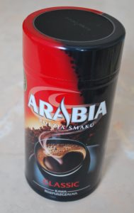 Кофе растворимый арабиа, производство Польша