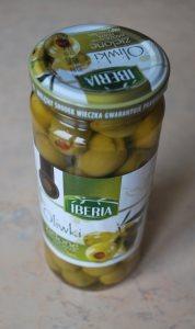 Консервированные зеленые оливки