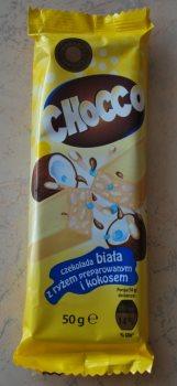 Белый шоколад с рисом